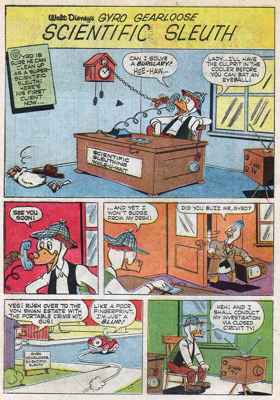 Uncle Scrooge (1953) Issue #55 #55 - English 30