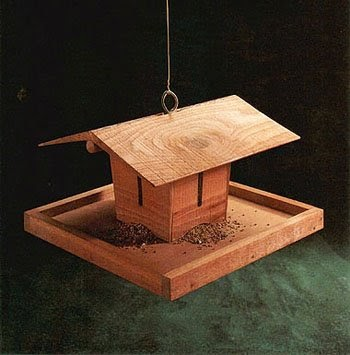 Bird Feeder | Free Woodworking Project Plans