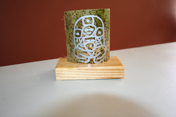 placa de Atabey en Bambu