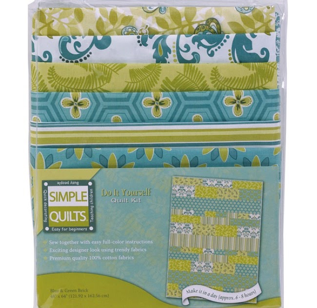 Simple Quilts Templates Quilt Kit : Weekend Kits Blog: Simple DIY Quilt Kits - Create a Designer Lap Quilt!