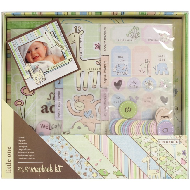 Weekend kits blog complete scrapbook kits easy 8x8 albums