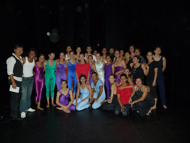 presentación final Invernadero Danza 2009