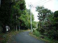 三嶽神社への道
