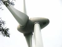 風車1号機のナセル