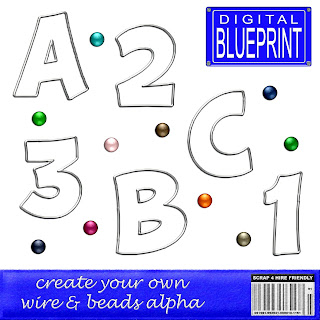 Create your Own Wire & Beads Alpha