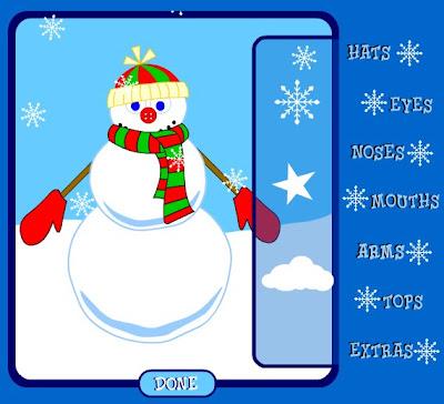 http://www.cyke.com/snowman.swf