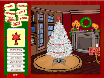 lowes elf tacular christmas tree builder site is full of fun and the little elves that help you are a hoot you can also share your tree with others - Christmas Tree Decoration Games