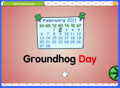groundhog day story by starfall - Starfall Color