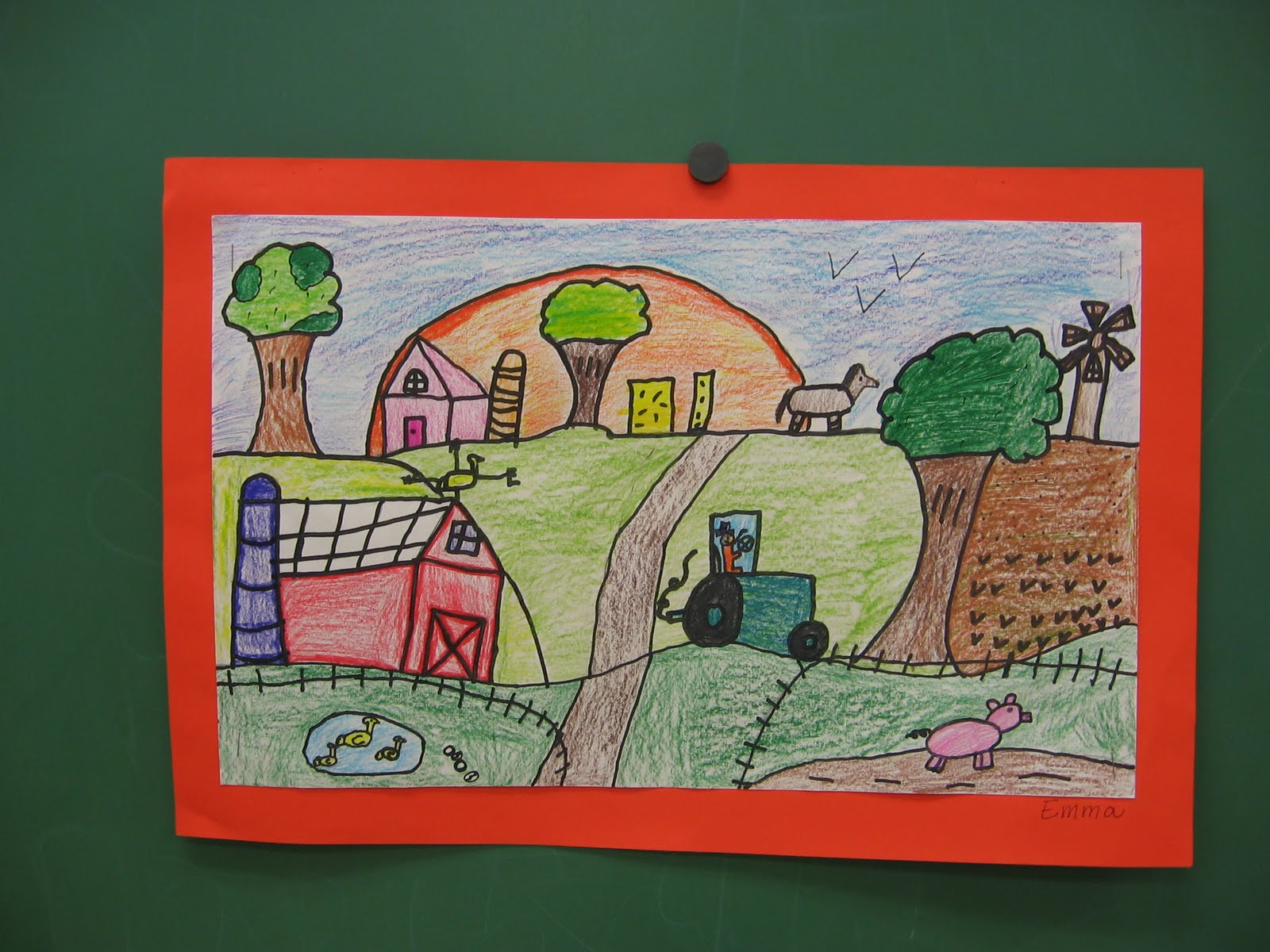 The gallery for --u0026gt; Grant Wood Landscape