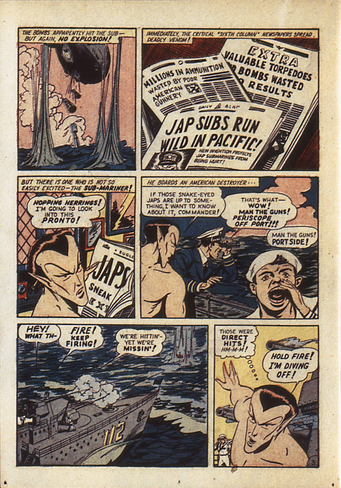 Sub-Mariner Comics Issue #6 #6 - English 27