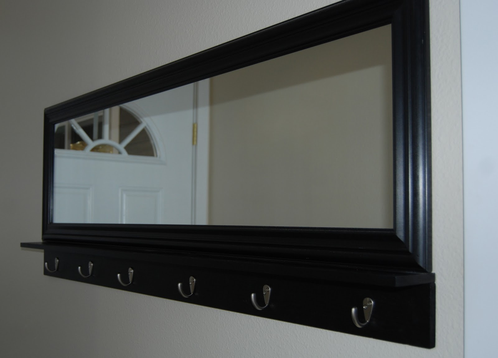 nap time crafts mirror coat hook. Black Bedroom Furniture Sets. Home Design Ideas