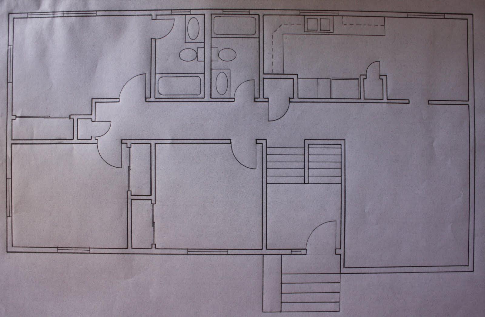 Perspective floor plan house House decor