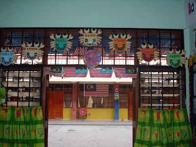 Bermulanya di prasekolah ini januari 2009 for Mural tadika