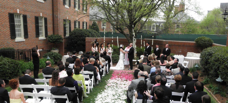 raleigh wedding blog the carolina inn hosts wedding of melissa