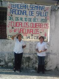 TERCERA SEMANA NACIONAQL DE SALUD