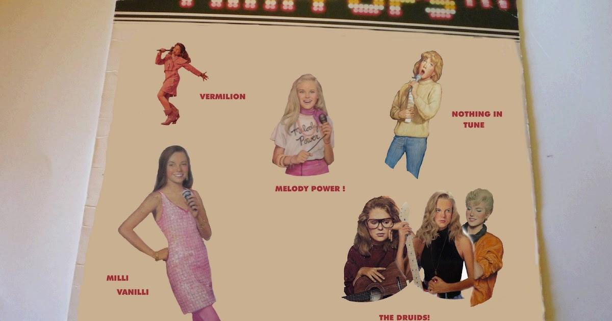 Cliquey Pizza 80s Teen Book Series Pop Culture Jessica