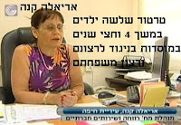 אריאלה קנה - מנהלת מחלקה לשירותים חברתיים חיפה