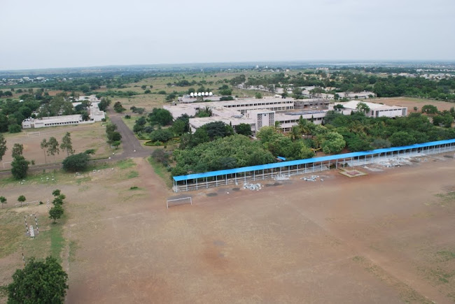Sainik School Bijapur- parade ground,main building