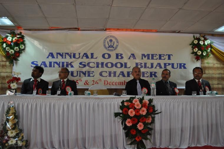 1) Shri SC Shivagunde, 162, Hoy, President, Ajeet Alumni Association, Pune 2