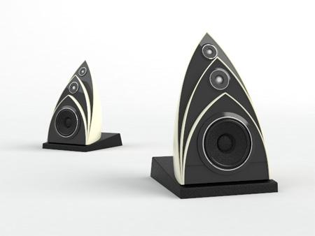 3d Design Unique Speakers