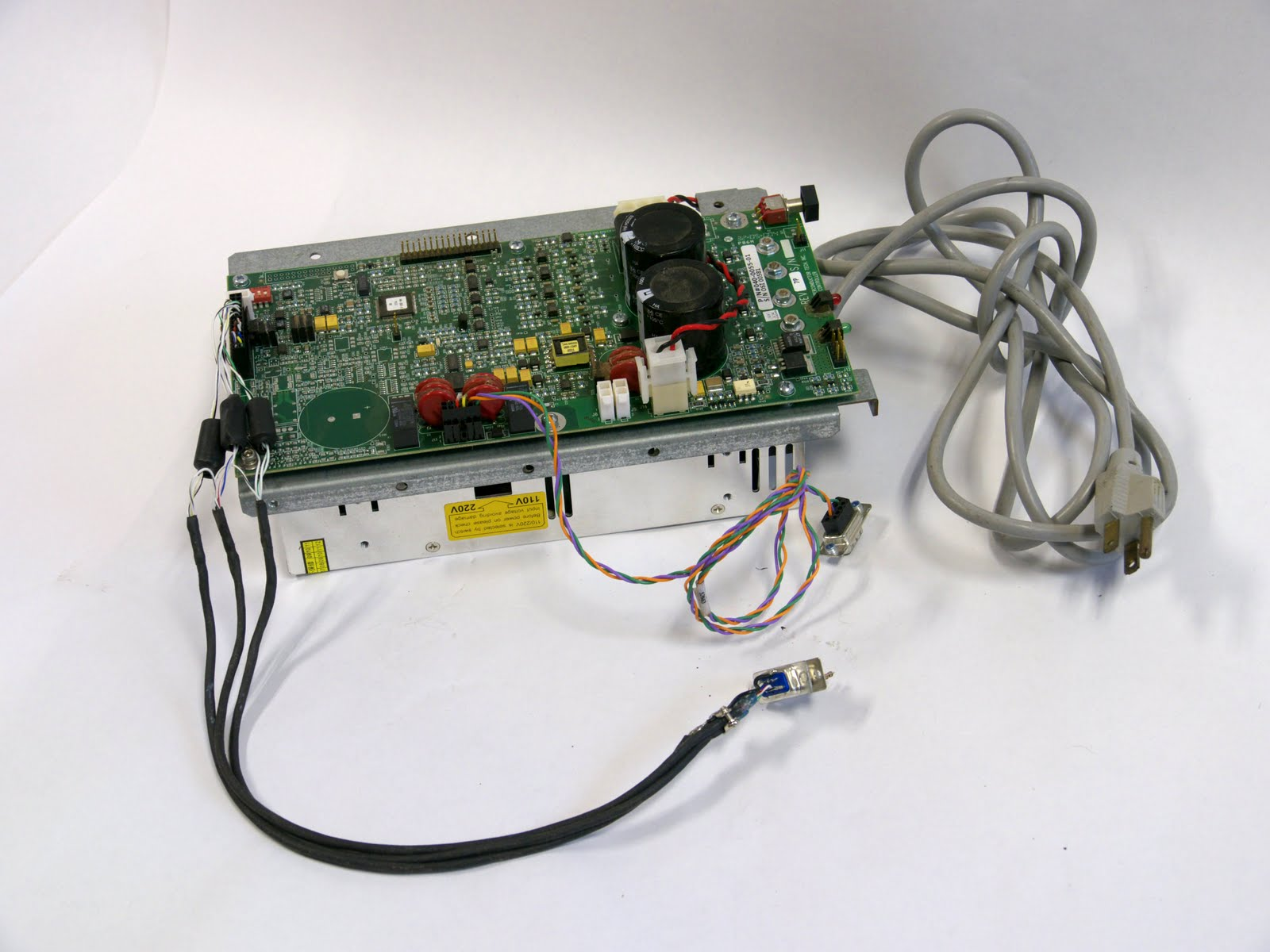 Ben Krasnow Diy Liquid Nitrogen Generator Hacked Gadgets Tech Blog Circuit Board Uv Exposure Box The Original Control From Sti Superfilter Requires 27vdc So I Found A Switching Power Supply Ebay And Use That To