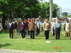 Upacara Tujuh Belasan di Konsulat RI Songkhla, Thailand Selatan