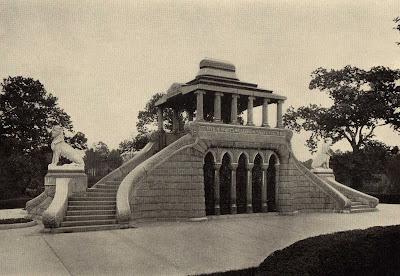The Barney Mausoleum On Laurel Hill E J Lazelle