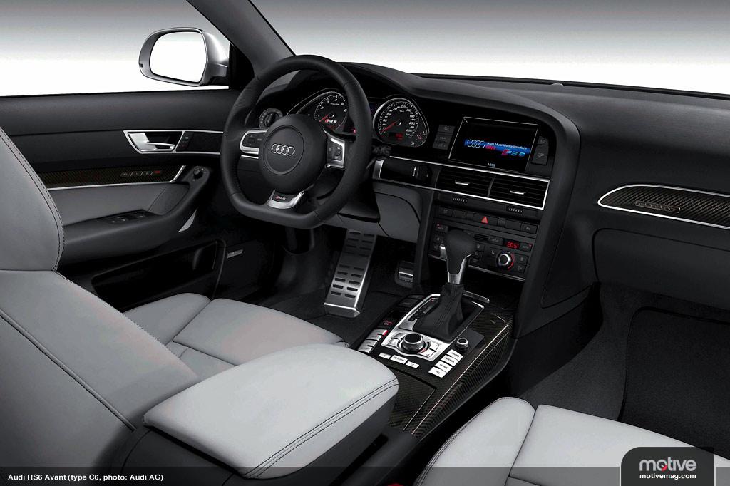 Audi S6 2010. Audi RS6 Avant