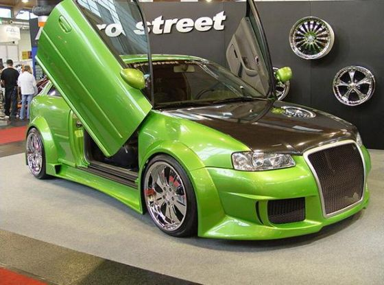 Audi A4 2003 Tuning. Audi A4 Modifications