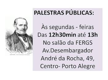 PALESTRAS PÚBLICAS