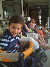 Com 4 anos e meio - Em Cuba