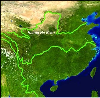 Huang he flooding this river has killed millions just by flooding people should keep using the water but not too much so it wont get too shallow the flooding is a natural sciox Images