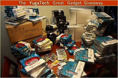 YugaTech Great Gadget Giveaway