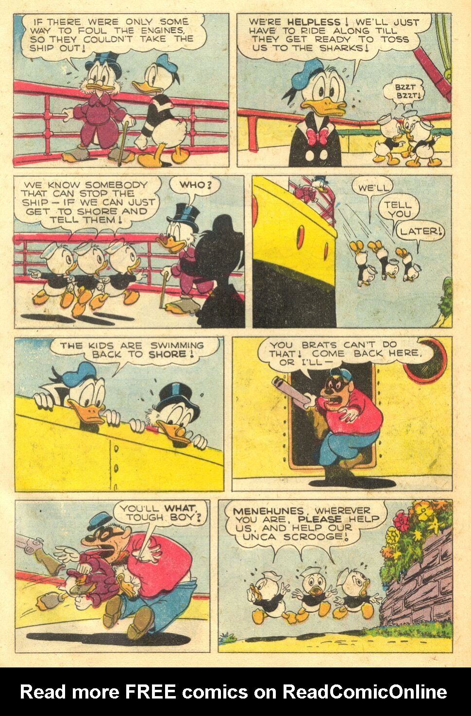 Uncle Scrooge (1953) Issue #4 #4 - English 32