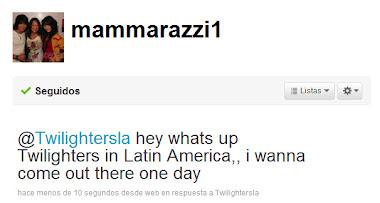 Otro saludo: BooBoo, el interprete de Seth nos envia un saludo: