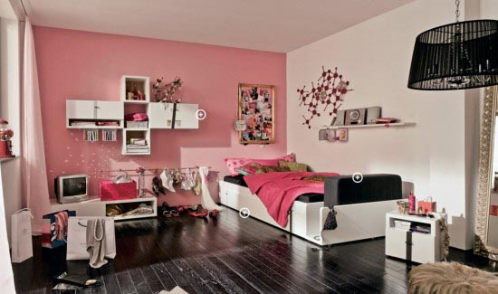 Cool Pink Girls Teen Room Designs by Hulsta And exposing a sex tape.