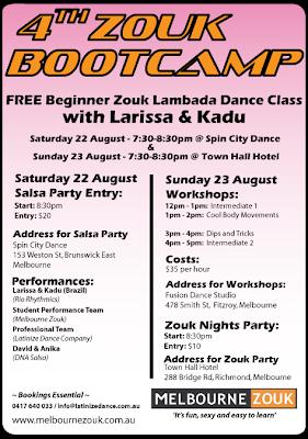 Larissa & Kadu - Zouk Bootcamp - Facebook