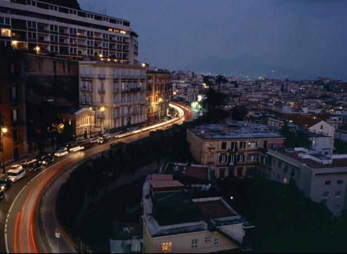 Il Corso Vittorio Emanuele....distante appena due minuti dalla mia casa....