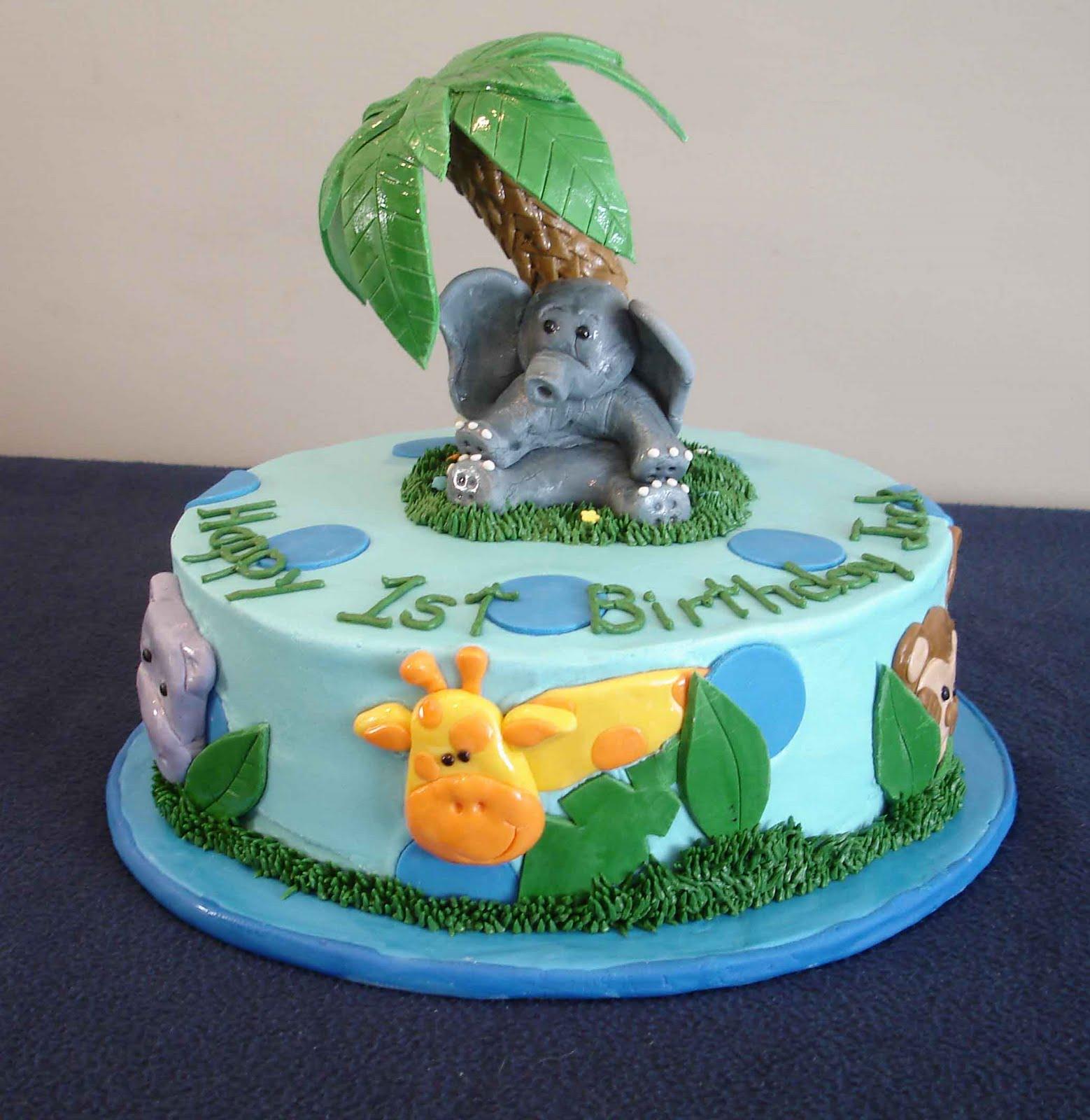 Cake Designs Jungle : Serendipity Cake Design: Jungle Cake