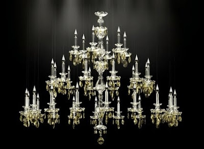 Interior Design Online Courses on Variation On Windfall S  Balance  Chandelier Featuring Topaz