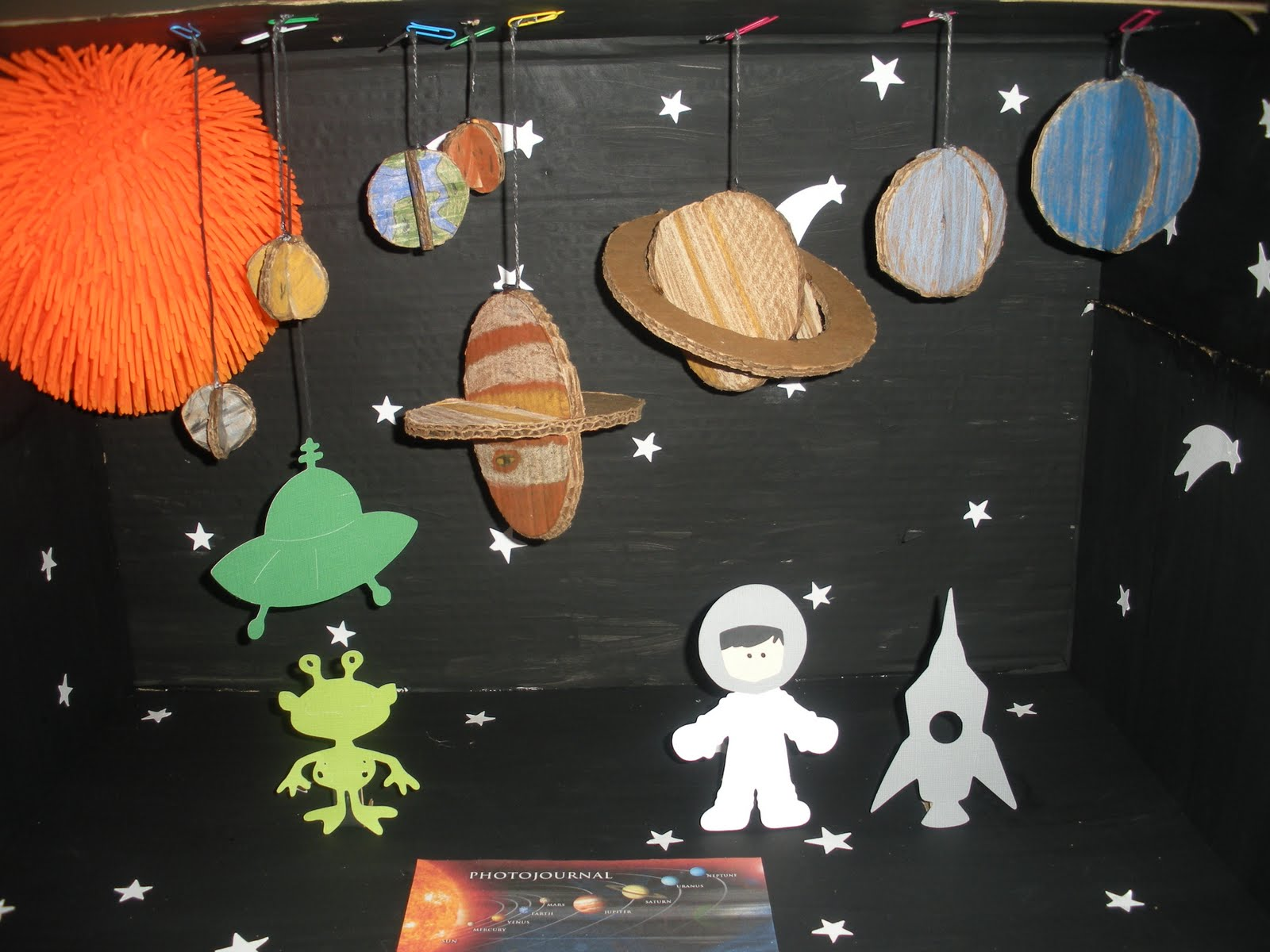 Solar System Pictures For Kids Project : 3d Solar System Projects For Kids Images & Pictures - Becuo