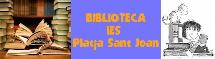 Biblioteca IES Platja Sant Joan