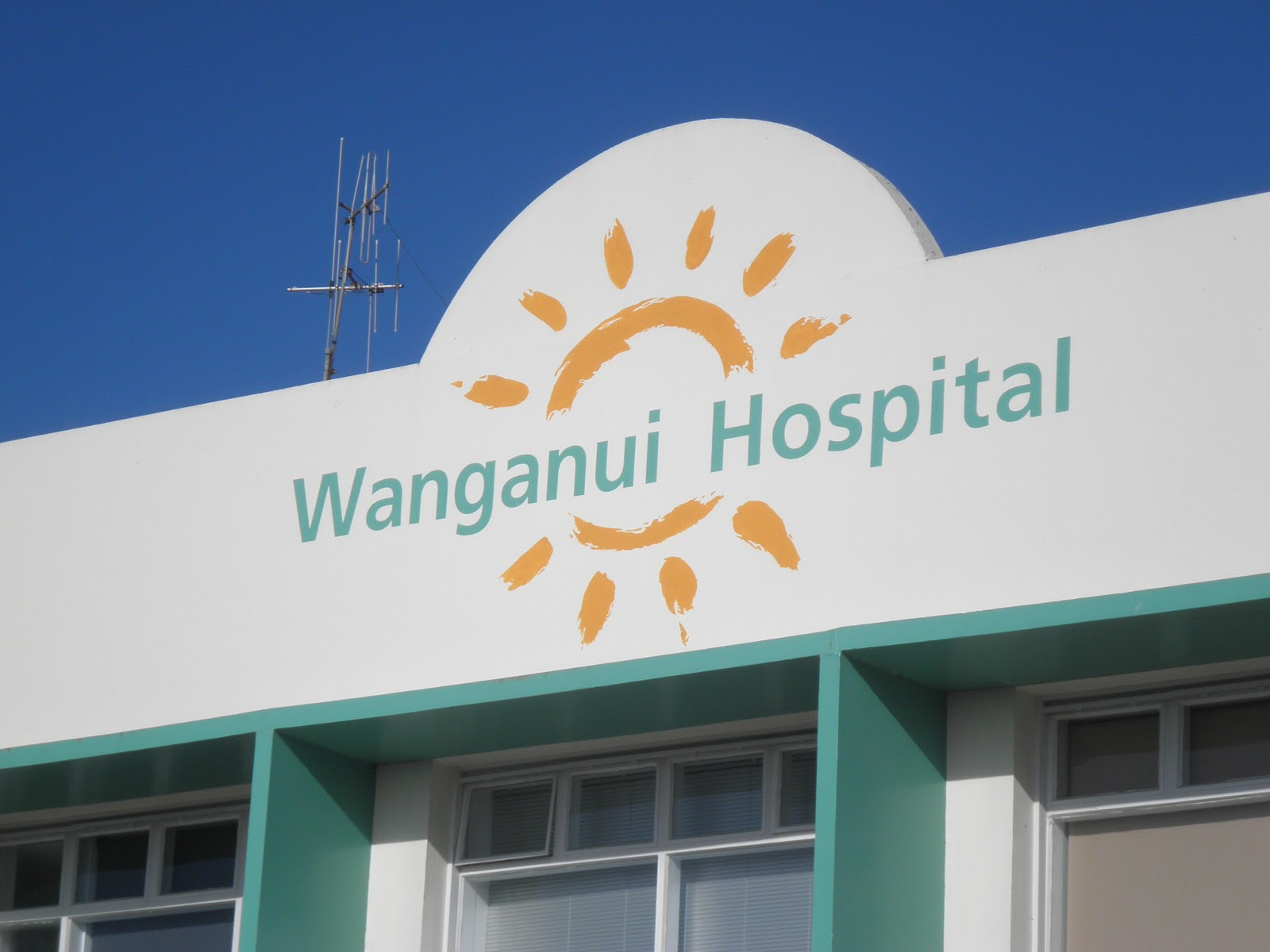 Wanganui New Zealand  City pictures : New Zealand Junnilas: Bob's new office: Wanganui Hospital, Wanganui ...