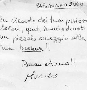 Da Marco Barone zio e amico di Roberto .