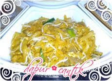Gambar Masakan Kwetiaw Tauge Goreng Pedas Dapur Cantik
