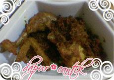 ayam goreng bubuk kremez dapur cantik