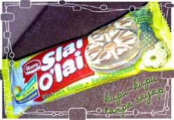 Aku Suka Biskuit Slai O'lai Nenas
