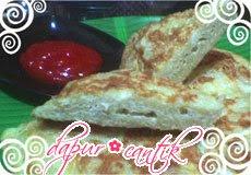 omelet misoa makaroni keju dapur cantik