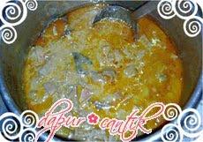 gulai sayur nangka dapur cantik