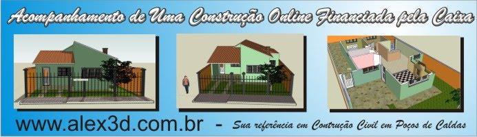 Construção Online casa financiada